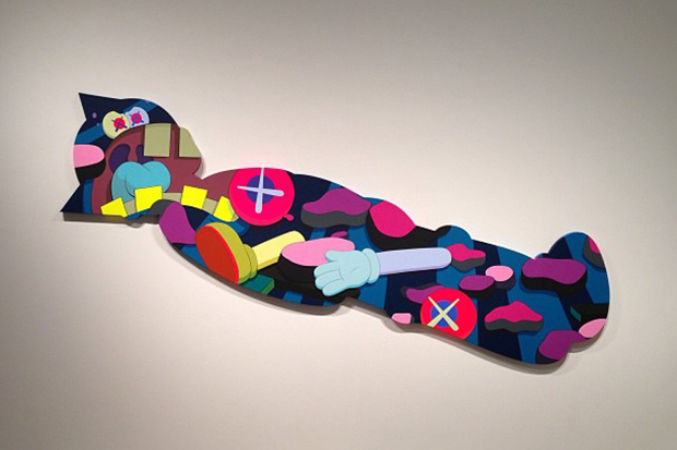 """KAWS """"Ohhh…"""" Exhibition @ KaiKai Kiki Gallery Preview"""