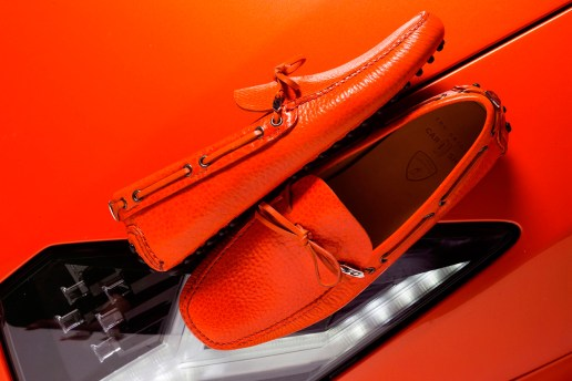 Car Shoe for Lamborghini 50th Anniversary Moccasin Collection