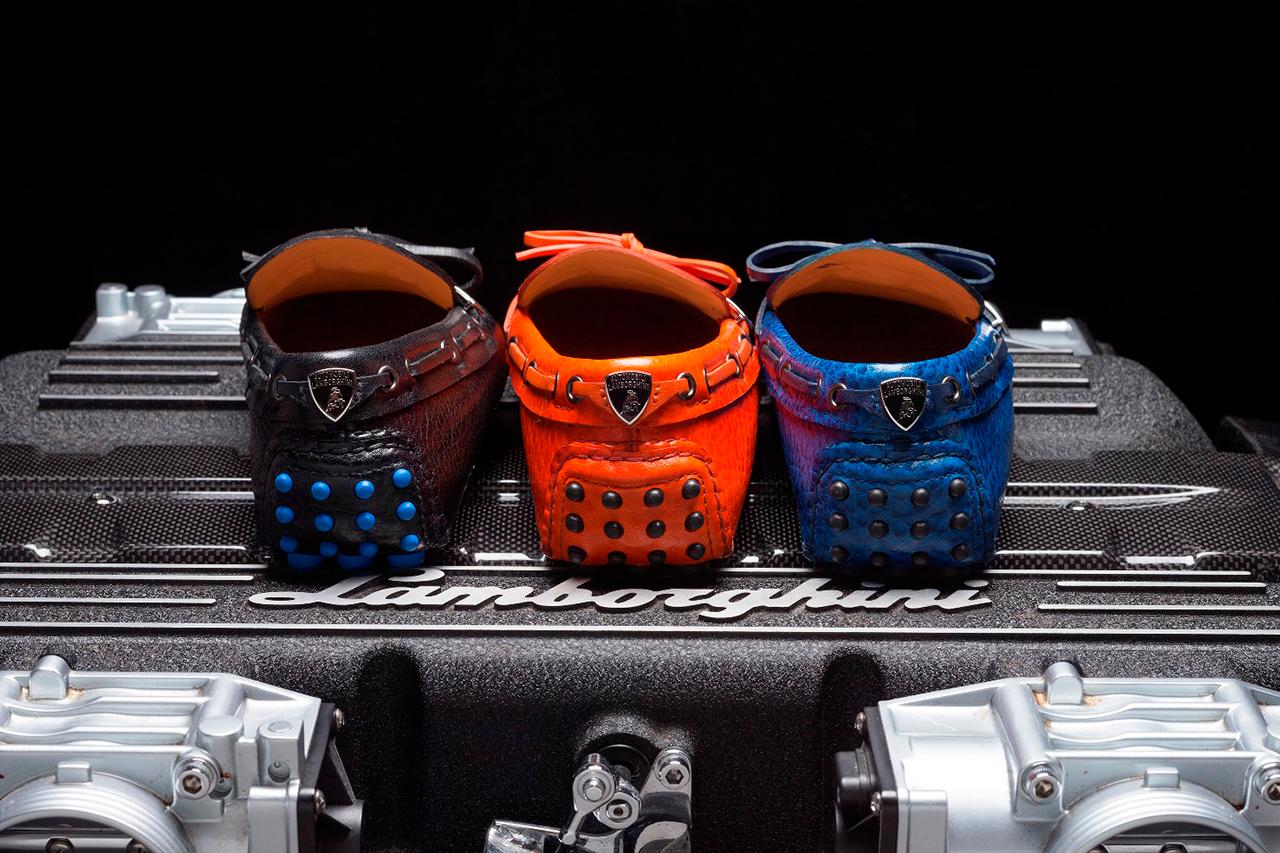 Car Shoe for Lamborghini 50th Anniversary Moccasin Collection