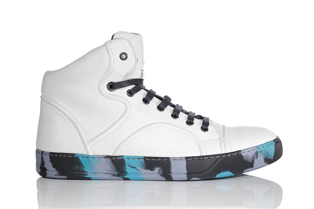 Lanvin 2013 Fall/Winter High Top Sneaker Collection