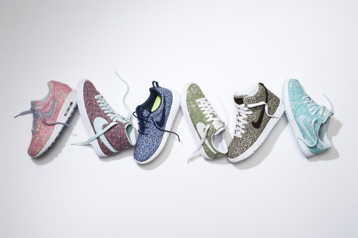 Liberty x NIKEiD 2013 Summer Collection