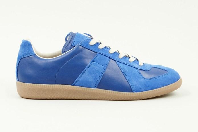 Maison Martin Margiela 2013 Pre-Fall Blue Replica Sneaker