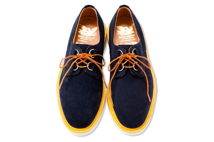 Mark McNairy for Heather Grey Wall 2013 Spring/Summer Creeper Shoes