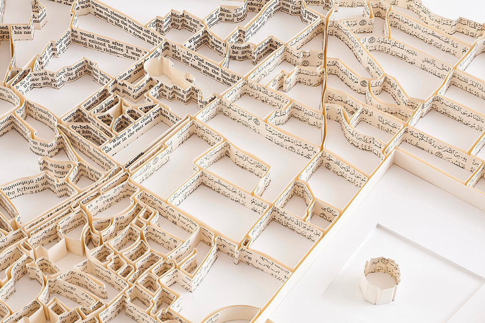 Matthew Picton's Paper Sculptures Illustrate World Cities