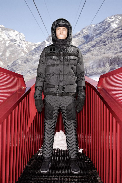 "White Mountaineering x Moncler 2013 Fall/Winter ""Moncler W"" Lookbook"