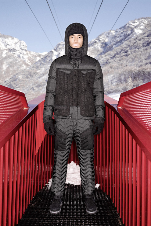 """White Mountaineering x Moncler 2013 Fall/Winter """"Moncler W"""" Lookbook"""