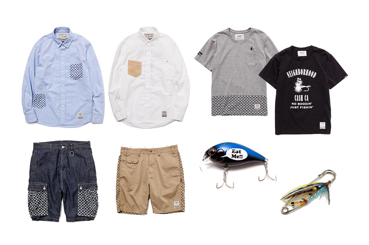 NEIGHBORHOOD x CASH CA 2013 Spring/Summer Capsule Collection