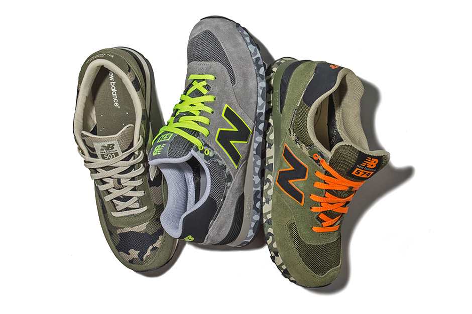 new balance 2013 spring summer ml 574 camo pack