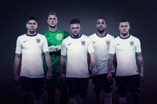 Nike Unveils the 2013 England Home Kit