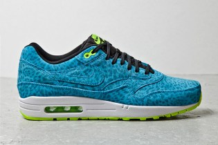"Nike Air Max 1 FB ""Blue Leopard"""
