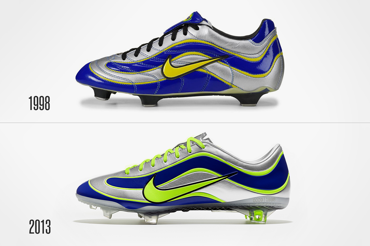 nike celebrates 15 years of the mercurial el fenomeno