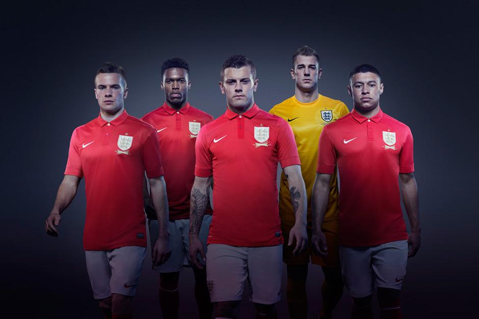 nike unveils the 2013 england away kit