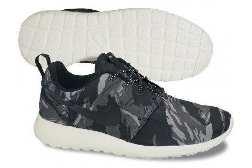 "Nike Roshe Run GPX ""Black Tiger Camo"""