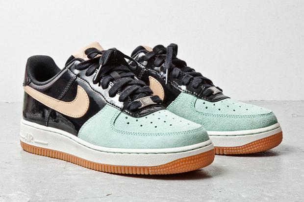 nike sportswear air force 1 mint toe
