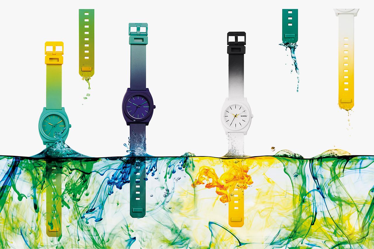 nixon the time teller p dip dye collection
