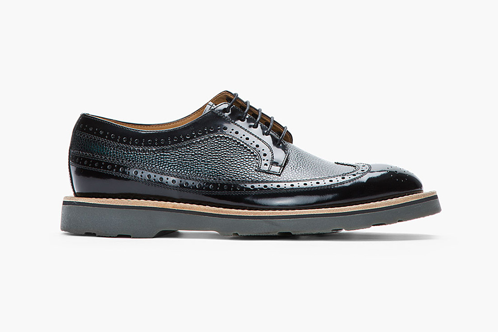 Paul Smith Pebbled Leather Brogues