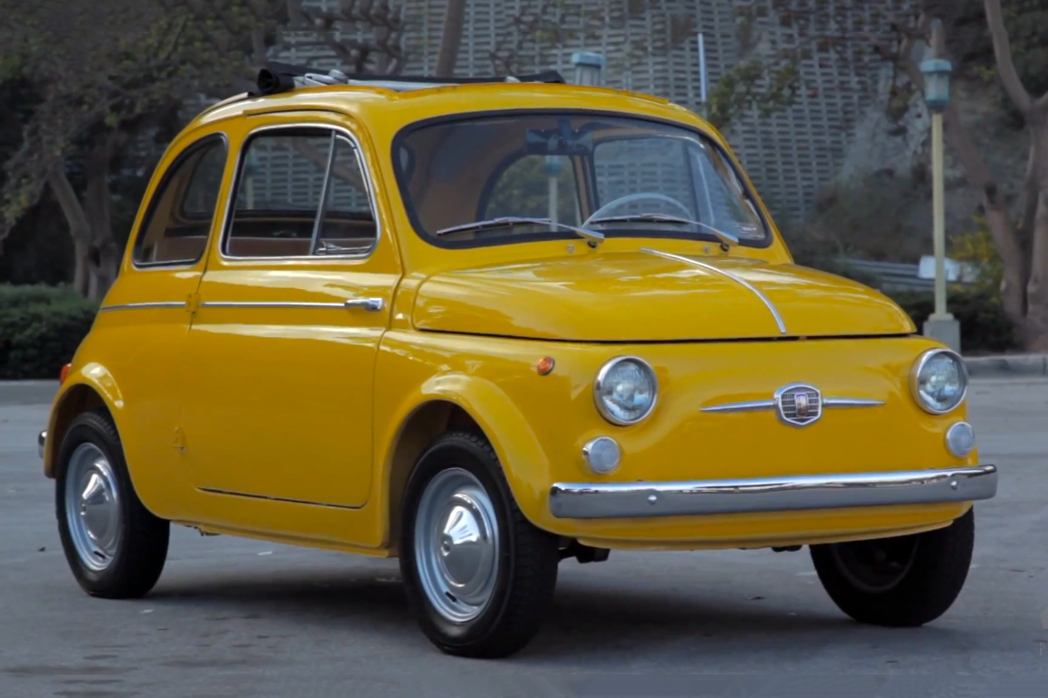 Petrolicious Shares a Ray of Sunshine with a 1964 Fiat 500D