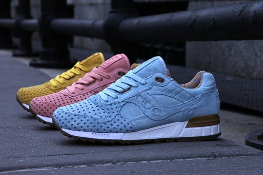 "Play Cloths x Saucony Shadow 5000 ""Cotton Candy Pack"""