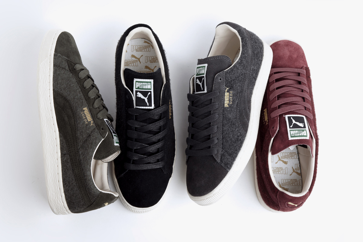 puma 2013 fall classic suede wool pack