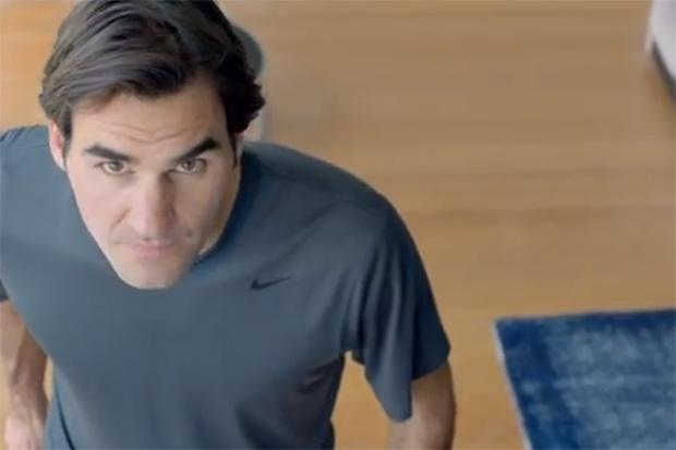 """Roger Federer Stars in Nike's """"The Fly Swatter"""""""