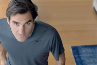 "Roger Federer Stars in Nike's ""The Fly Swatter"""