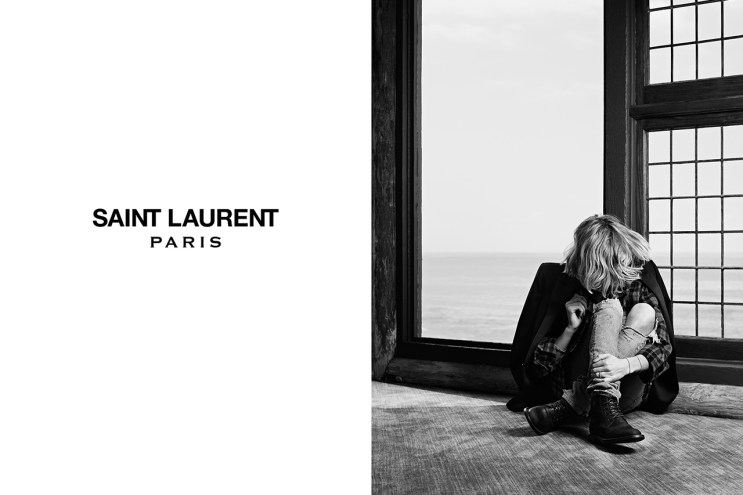 Saint Laurent 2013 Fall/Winter Campaign Part 1 featuring Cara Delevingne & Cole Smith