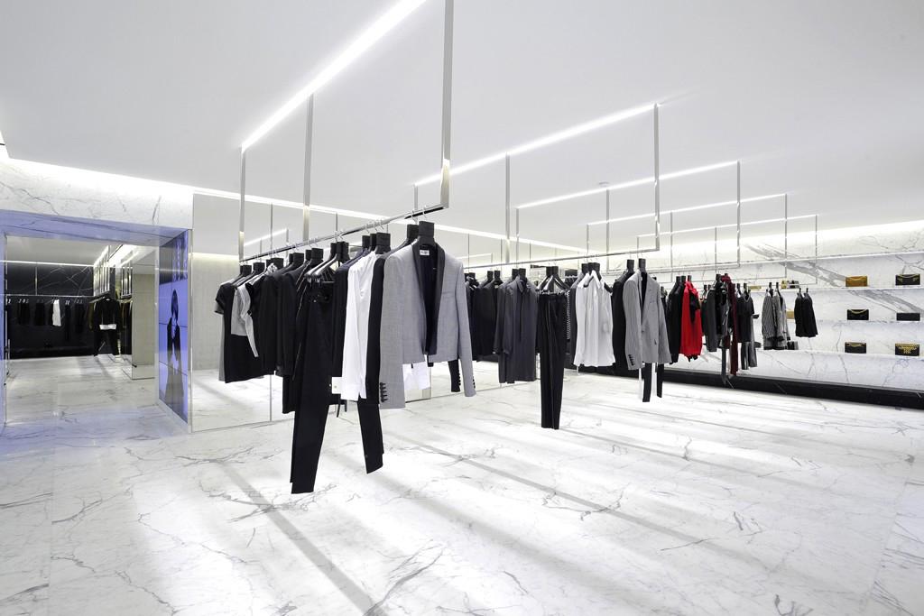 Saint Laurent's Avenue Montaigne Paris Flagship Boutique