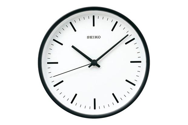 Seiko Standard Wall Clock Designed by Naoto Fukasawa