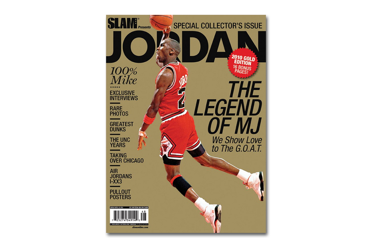 A Selection of Some of Michael Jordan's Most Iconic Magazine Covers