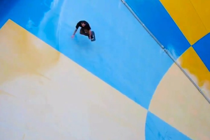 Skating an Abandoned Waterpark with Justin Brock and Dan Plunkett