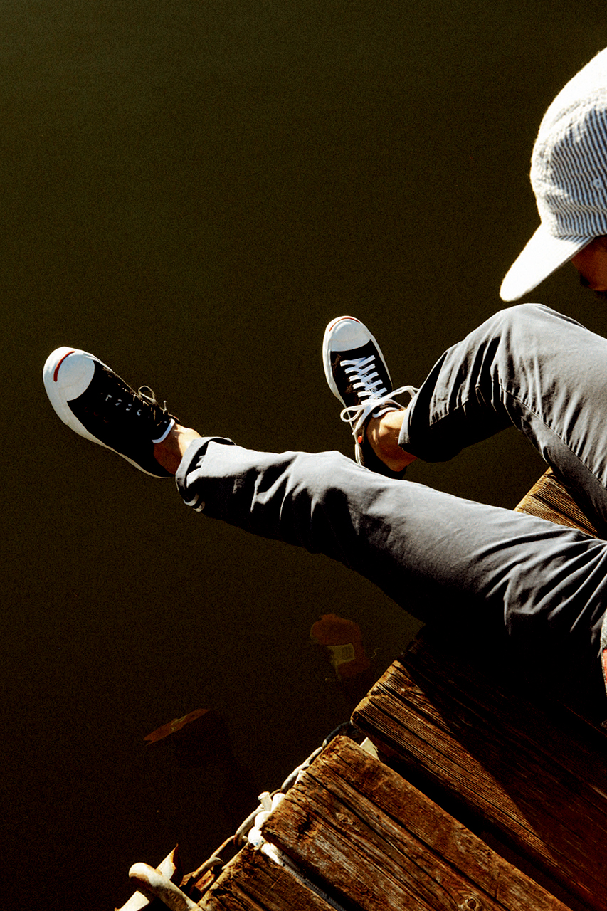 slam jam x converse first string jack purcell summer journey lookbook