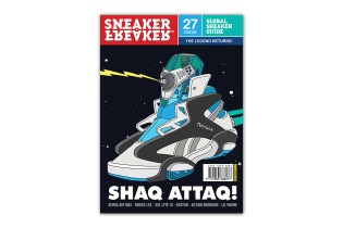 Sneaker Freaker Issue 27 Previews New Projects from St. Alfred, Ronnie Fieg, Concepts & Foot Patrol