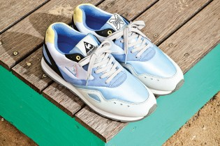 "Sneaker Freaker x le coq sportif Flash ""Summer Bay"""
