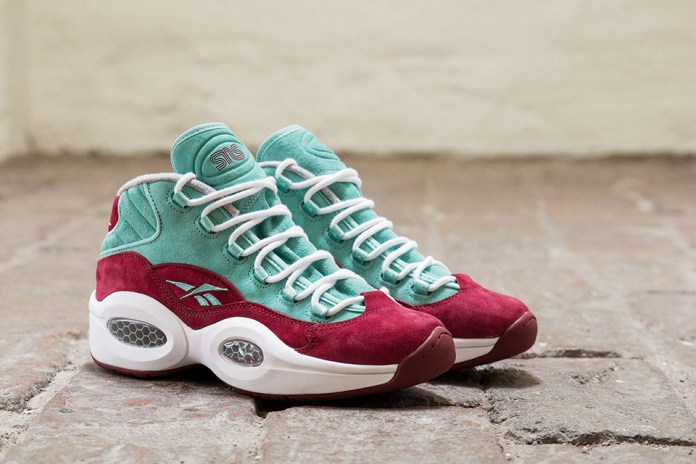 "Sneakersnstuff x Reebok Question Mid ""A Shoe About Nothing"""