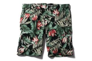 SOPHNET. 2013 Summer Flower Pattern Short Pant
