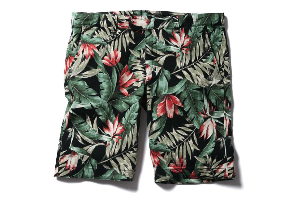 sophnet 2013 summer flower pattern short pant