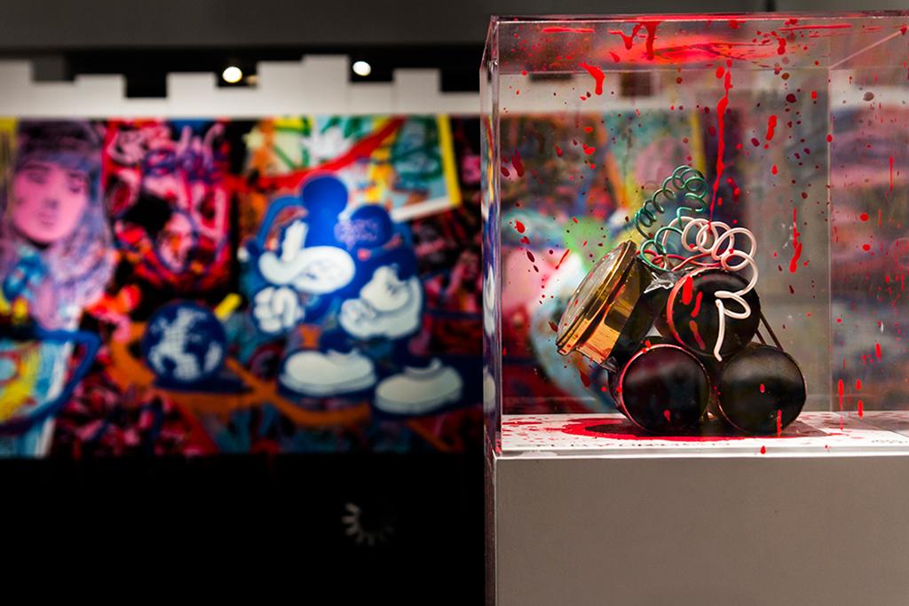 "Speedy Graphito ""NEWWORLDS"" Exhibition Recap at Fabien Castanier Gallery"