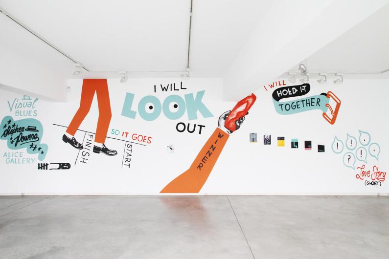 "Stephen ""ESPO"" Powers ""Visual Blues"" Exhibition @ Alice Gallery Recap"