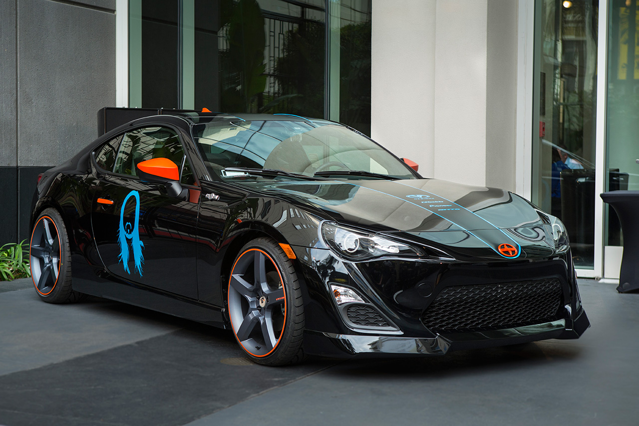 Steve Aoki Scion FR-S Art Car