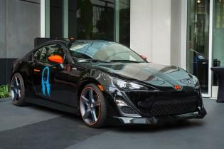 Steve Aoki Scion FR-S Art Car