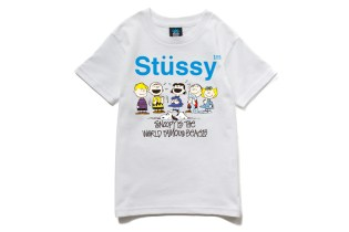 Stussy Kids x Peanuts 2013 Spring/Summer Collection
