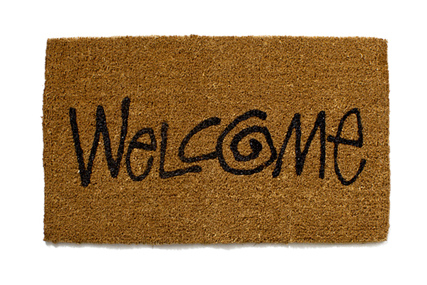 """Stussy Livin' General Store """"Welcome"""" Large Mat"""