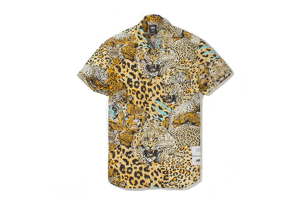 "Stussy ""Wildlife"" Button-Up Shirt"