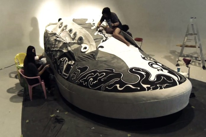 Superga Enter the Guinness World Records with World's Largest Shoe