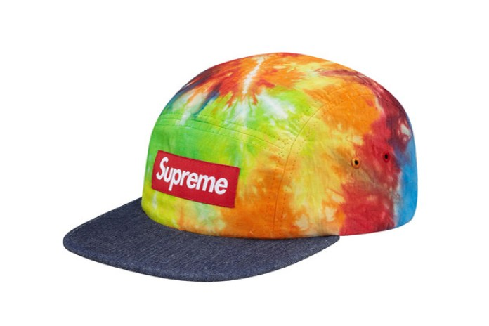 Supreme 2013 Spring/Summer Tie Dye Camp Caps