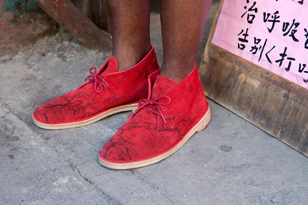 supreme x clarks 2013 spring summer desert boot