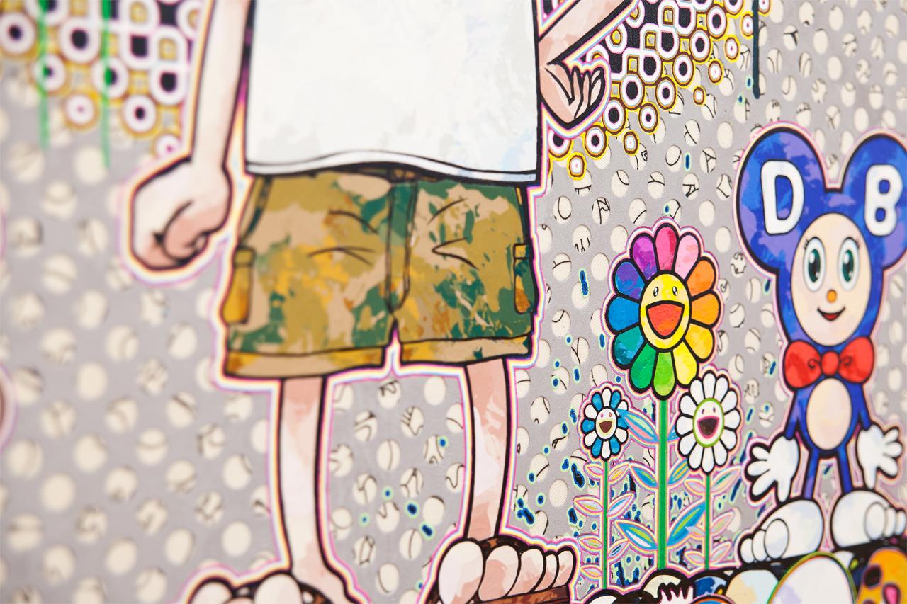 takashi murakami solo exhibition galerie perrotin hong kong recap