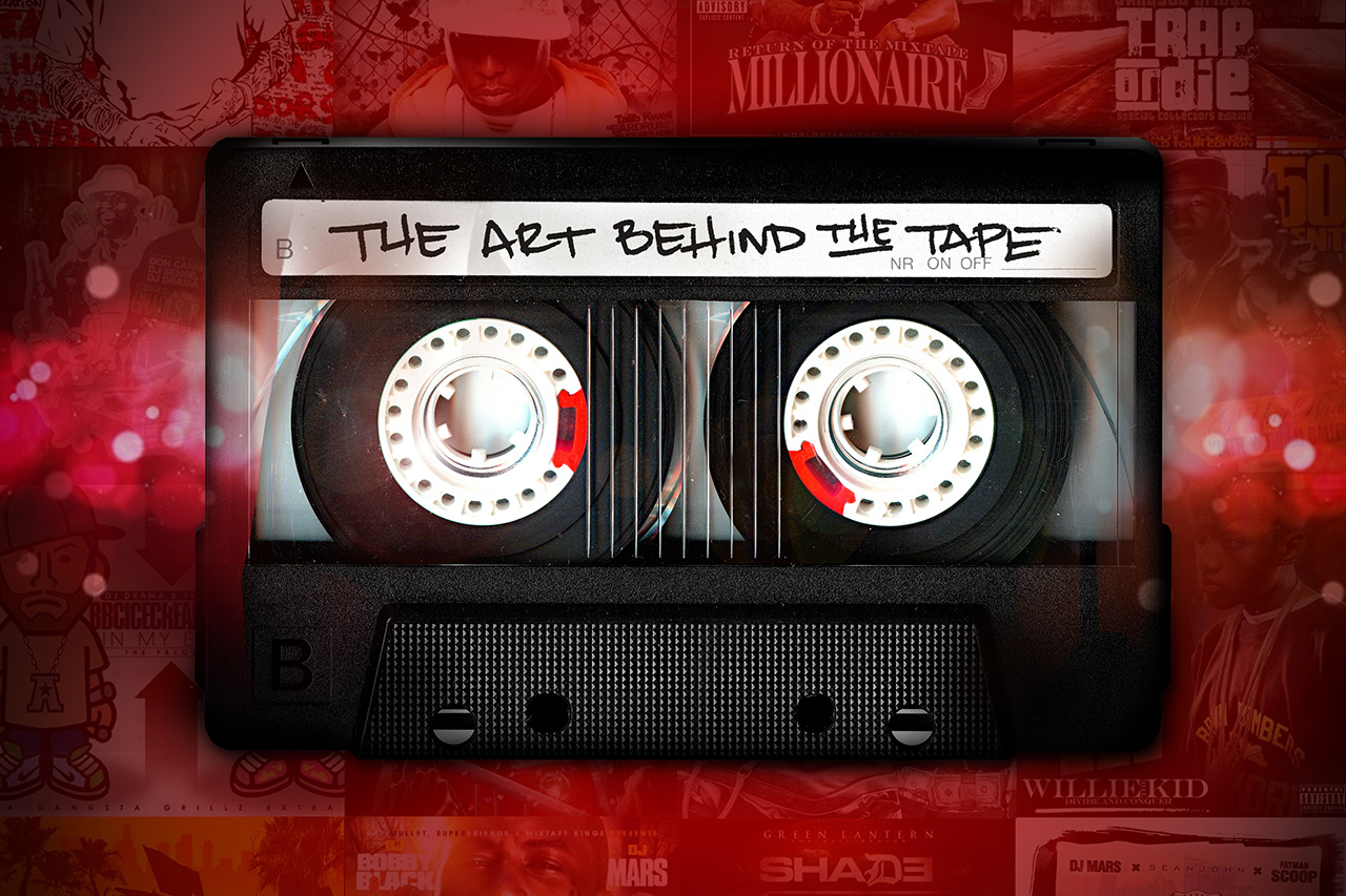 the art behind the tape mixtape cover art book