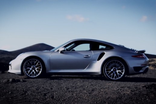 The New Porsche 911 Turbo in Motion