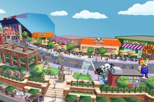 The Simpsons' Springfield Comes to Life at Universal Orlando Resort